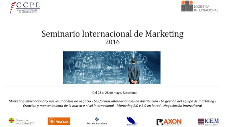 Barnamarketing col·labora en el Seminario Internacional de Marketing d'ILI i Universitat Abat Oliba